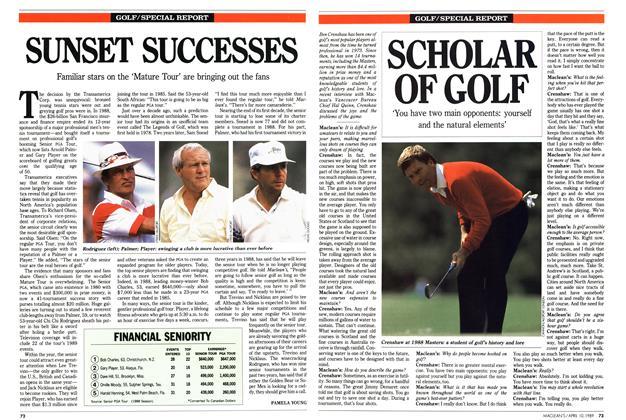 Article Preview: SUNSET SUCCESSES, April 1989 | Maclean's
