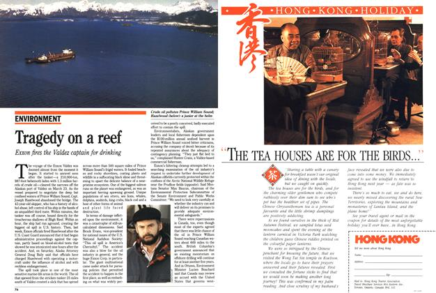 Article Preview: Tragedy on a reef, April 1989 | Maclean's