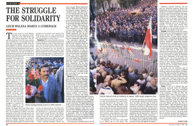 Article Preview: THE STRUGGLE FOR SOLIDARITY, April 1989 | Maclean's