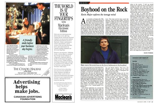 Article Preview: Boyhood on the Rock, April 1989 | Maclean's