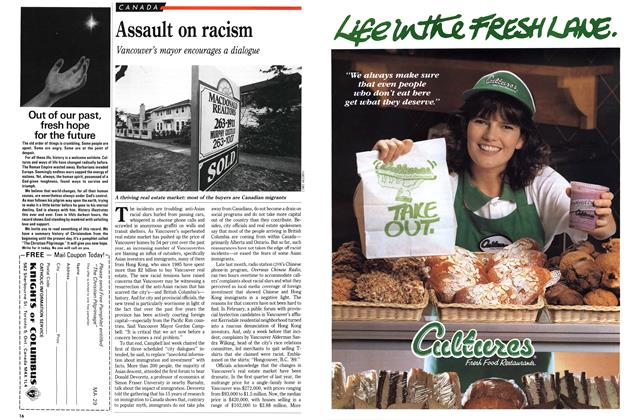 Article Preview: Assault on racism, April 1989 | Maclean's
