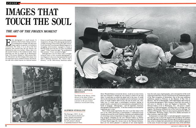 Article Preview: IMAGES THAT TOUCH THE SOUL, April 1989 | Maclean's