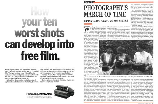 Article Preview: PHOTOGRAPHY'S MARCH OF TIME, April 1989 | Maclean's
