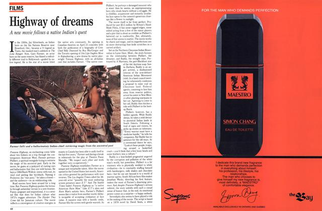 Article Preview: Highway of dreams, April 1989 | Maclean's