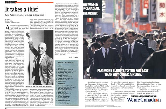 Article Preview: MACLEAN'S BEST-SELLER LIST, April 1989 | Maclean's