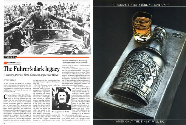 Article Preview: The Führer's dark legacy, May 1989 | Maclean's