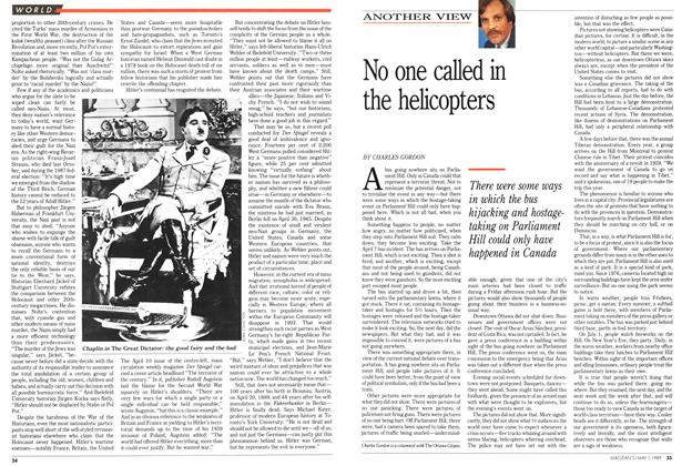 Article Preview: No one called in the helicopters, May 1989 | Maclean's