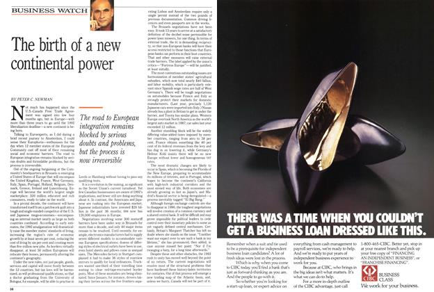 Article Preview: The birth of a new continental power, May 1989 | Maclean's