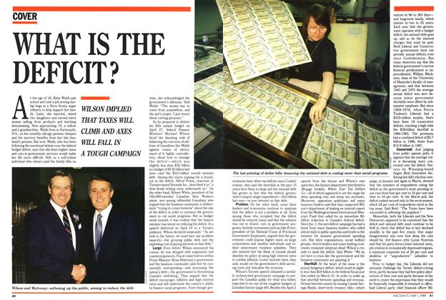 Article Preview: WHAT IS THE DEFICIT?, May 1989 | Maclean's
