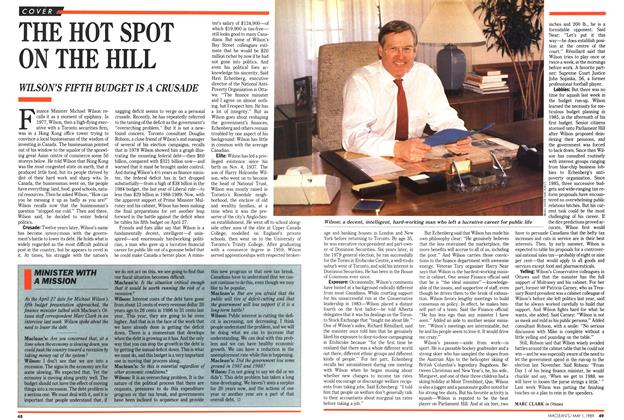 Article Preview: THE HOT SPOT ON THE HILL, May 1989 | Maclean's