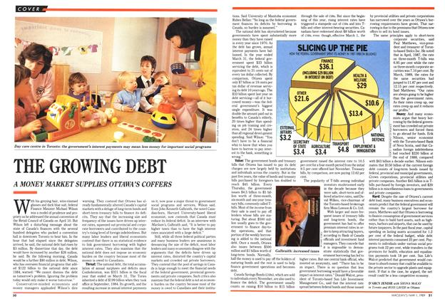 Article Preview: THE GROWING DEBT, May 1989 | Maclean's