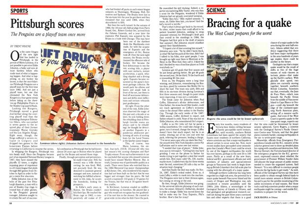 Article Preview: Pittsburgh scores, May 1989 | Maclean's