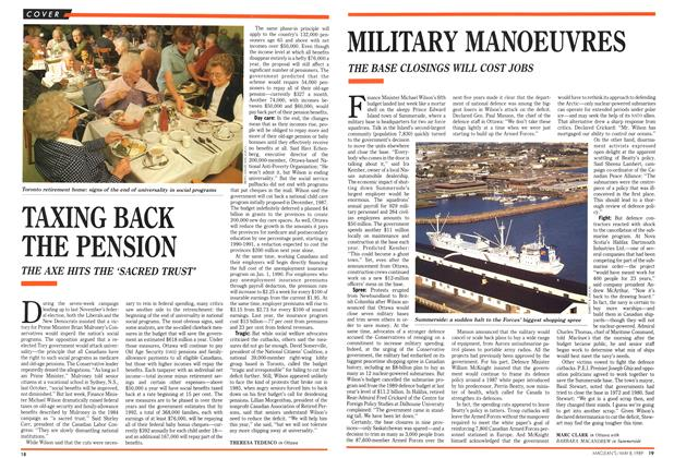 Article Preview: MILITARY MANOEUVRES, May 1989 | Maclean's
