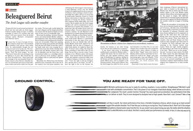 Article Preview: Beleaguered Beirut, May 1989 | Maclean's