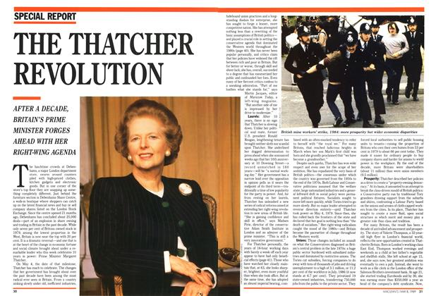 Article Preview: THE THATCHER REVOLUTION, May 1989 | Maclean's