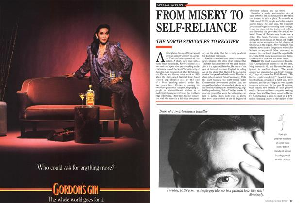 Article Preview: FROM MISERY TO SELF-RELIANCE, May 1989 | Maclean's