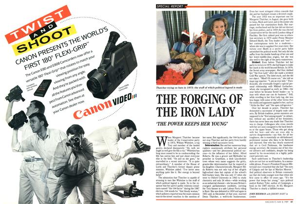 Article Preview: THE FORGING OF THE IRON LADY, May 1989 | Maclean's