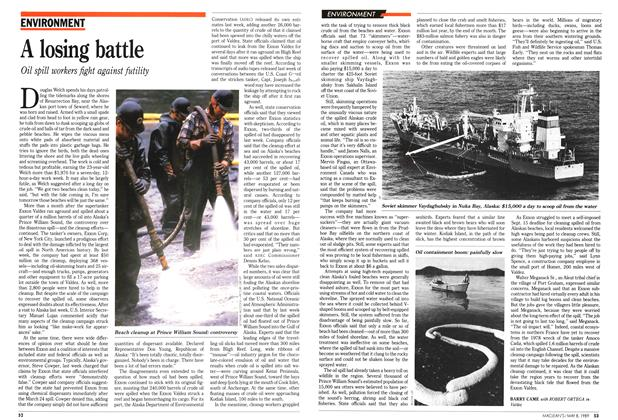Article Preview: A losing battle, May 1989 | Maclean's