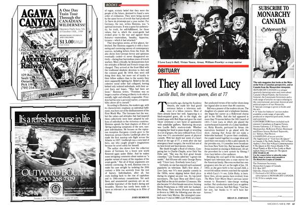 Article Preview: They all loved Lucy, May 1989 | Maclean's