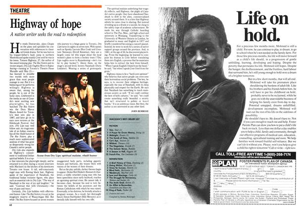 Article Preview: Highway of hope, May 1989 | Maclean's