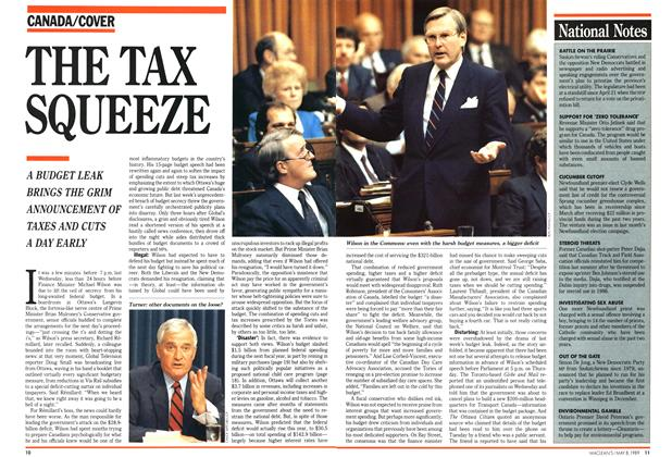 Article Preview: THE TAX SQUEEZE, May 1989 | Maclean's