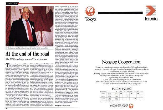Article Preview: At the end of the road, May 1989 | Maclean's