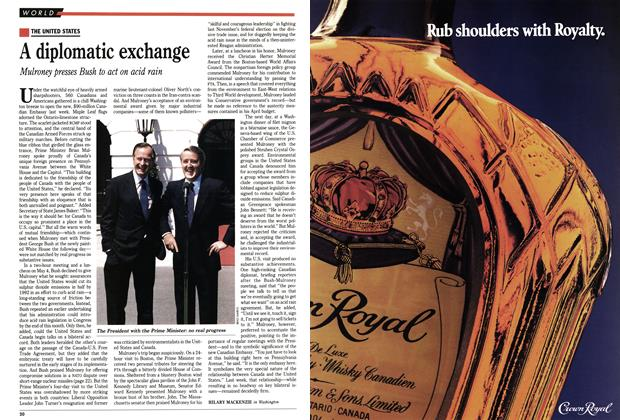 Article Preview: A diplomatic exchange, May 1989 | Maclean's