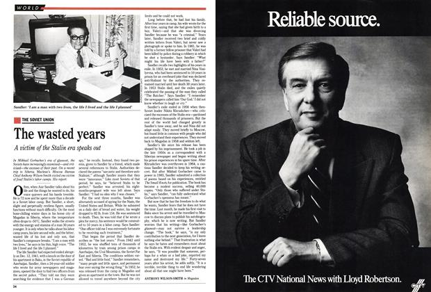 Article Preview: The wasted years, May 1989 | Maclean's