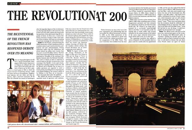 Article Preview: THE REVOLUTION AT 200, May 1989 | Maclean's