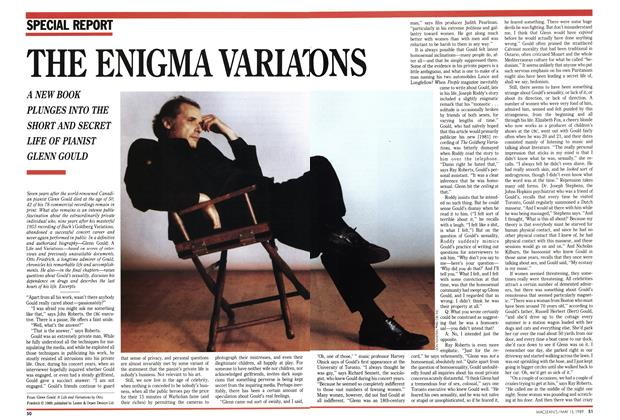 Article Preview: THE ENIGMA VARIATIONS, May 1989 | Maclean's