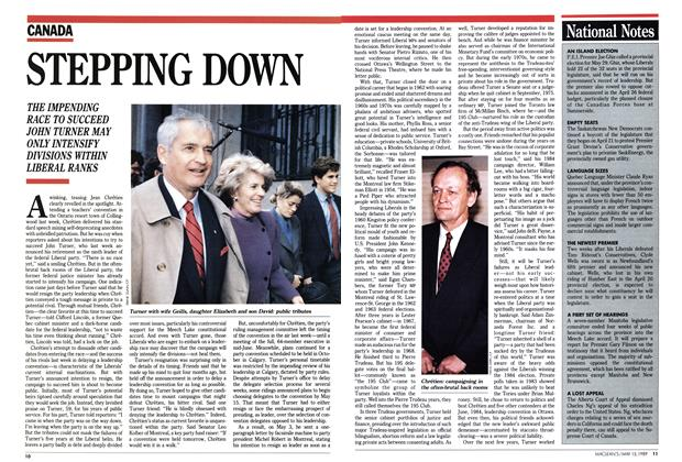 Article Preview: STEPPING DOWN, May 1989 | Maclean's