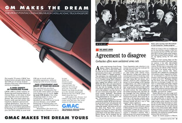 Article Preview: Agreement to disagree, May 1989 | Maclean's