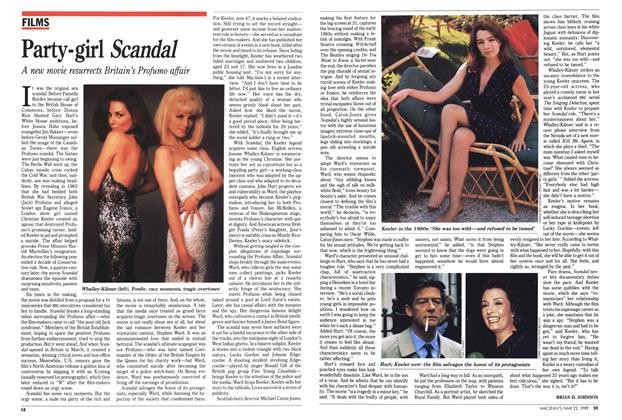 Article Preview: Party-girl Scandal, May 1989 | Maclean's
