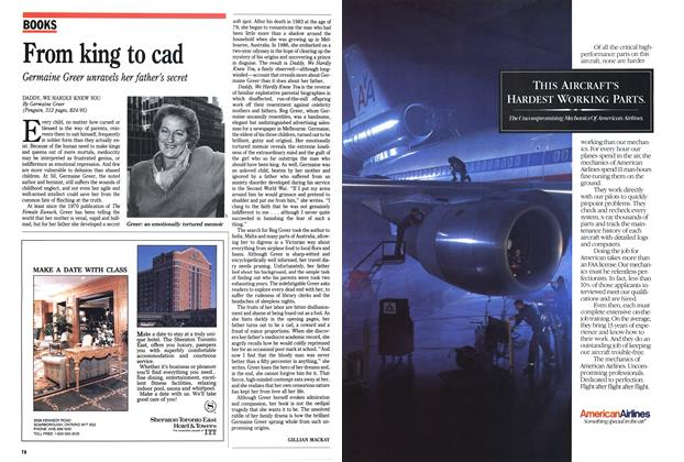 Article Preview: From king to cad, May 1989 | Maclean's