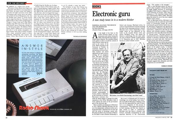 Article Preview: Electronic guru, May 1989 | Maclean's