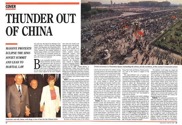 Article Preview: THUNDER OUT OF CHINA, May 1989 | Maclean's
