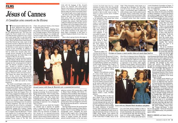 Article Preview: Jésus of Cannes, May 1989 | Maclean's