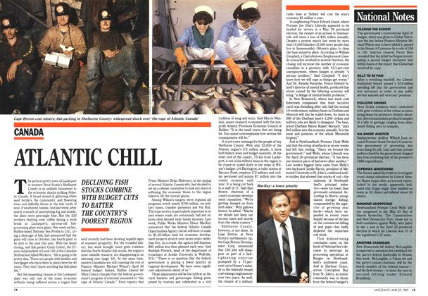 Article Preview: ATLANTIC CHILL, May 1989 | Maclean's