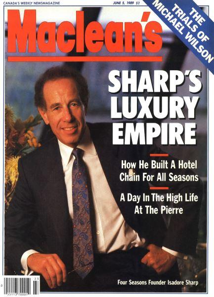 Issue: - June 1989   Maclean's