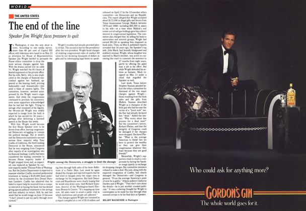 Article Preview: The end of the line, June 1989 | Maclean's