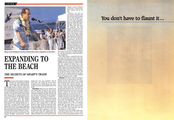 Article Preview: EXPANDING TO THE BEACH, June 1989 | Maclean's