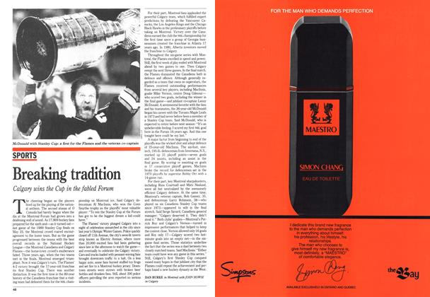 Article Preview: Breaking tradition, June 1989 | Maclean's