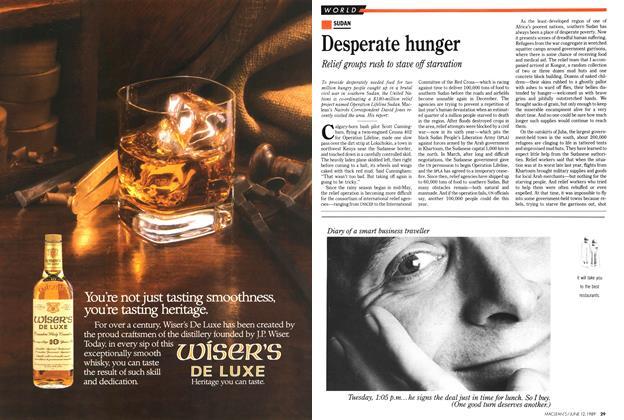 Article Preview: Desperate hunger, June 1989 | Maclean's