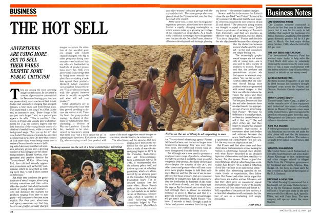 Article Preview: THE HOT SELL, June 1989 | Maclean's