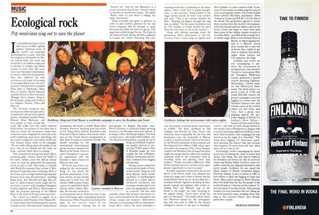 Article Preview: Ecological rock, June 1989 | Maclean's