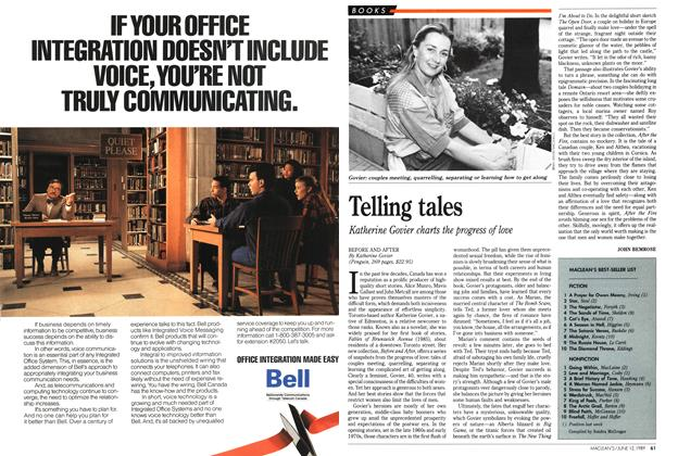Article Preview: Telling tales, June 1989 | Maclean's