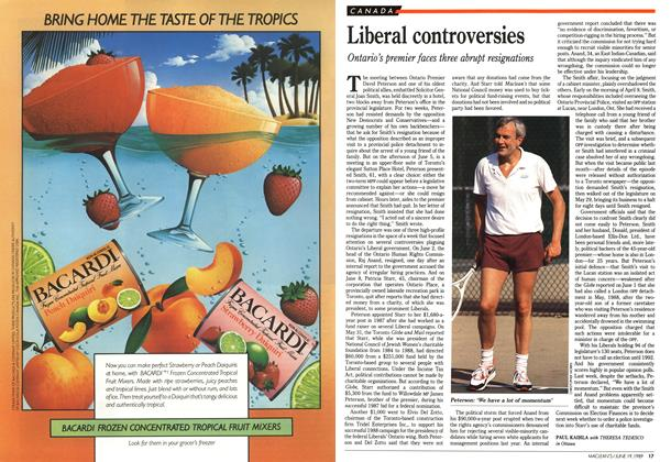Article Preview: Liberal controversies, June 1989 | Maclean's