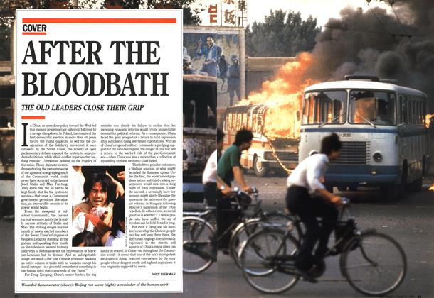 Article Preview: AFTER THE BLOODBATH, June 1989 | Maclean's