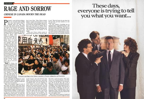 Article Preview: RAGE AND SORROW, June 1989 | Maclean's