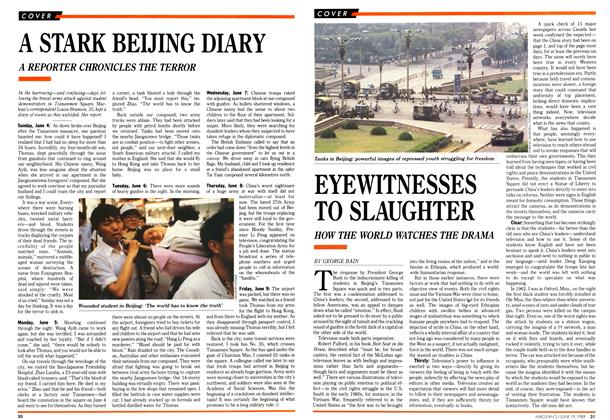 Article Preview: EYEWITNESSES TO SLAUGHTER, June 1989 | Maclean's